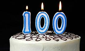 100th-birthday-cake