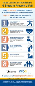 Take Control of Your Health: 6 Steps to Prevent a Fall