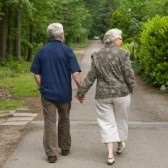 Senior-couple-walking