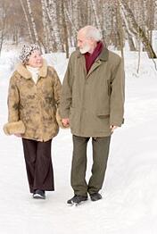 Walking-Winter
