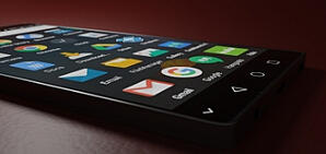 Image of many apps on a smart phone